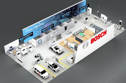 CES 2018 Bosch